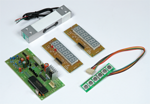 Curcuit / Key Board / Display / Load Cell